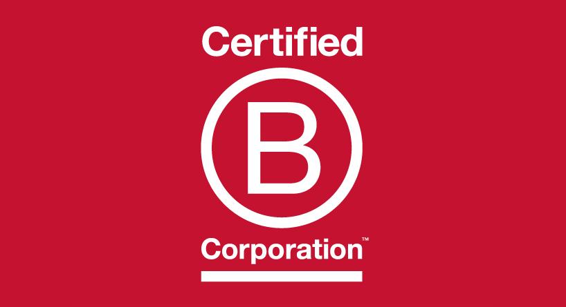 Logo du label B Corp pour les entreprises engagées