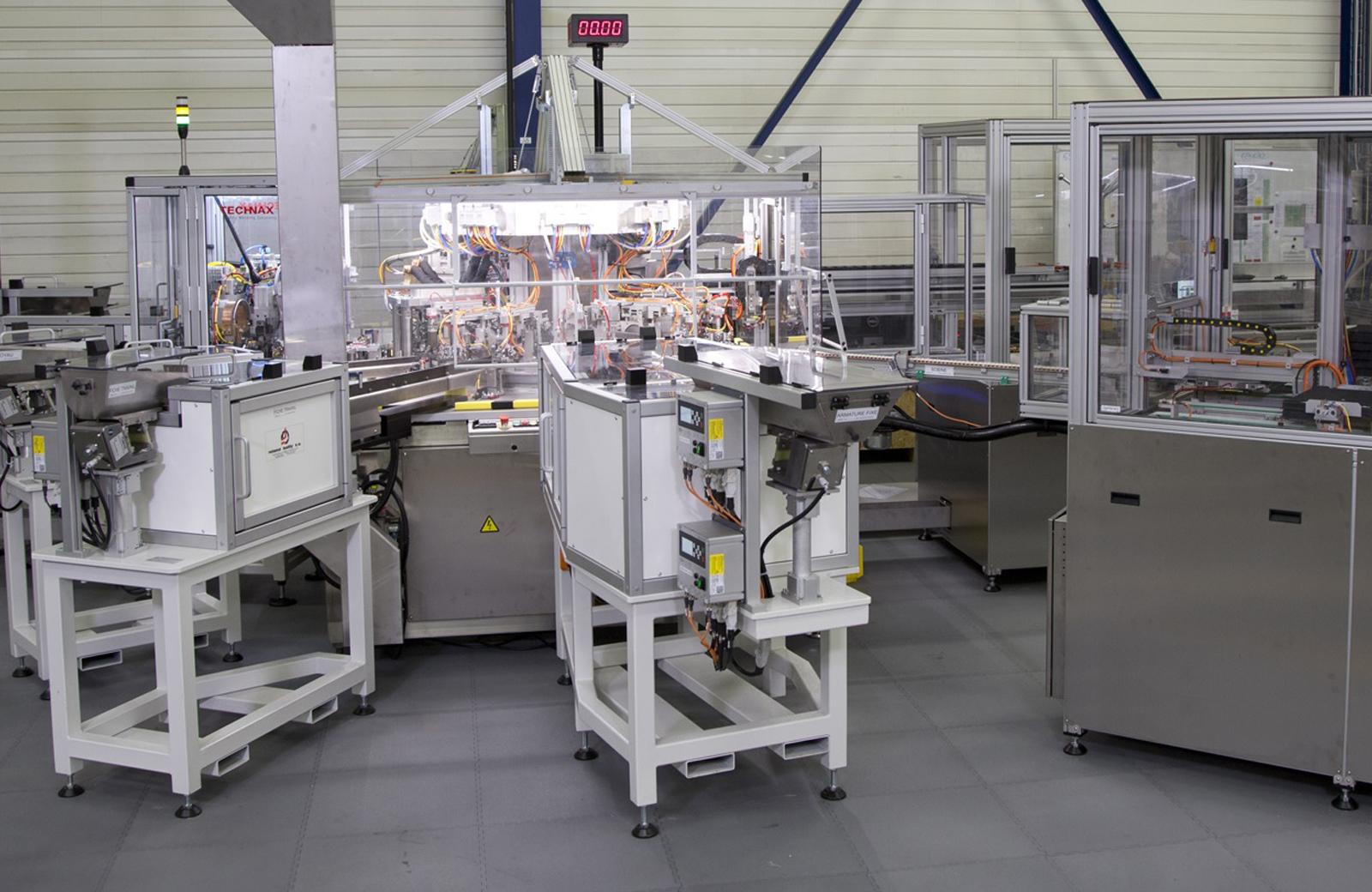 Machines spéciales Neyret dans un bâtiment industriel