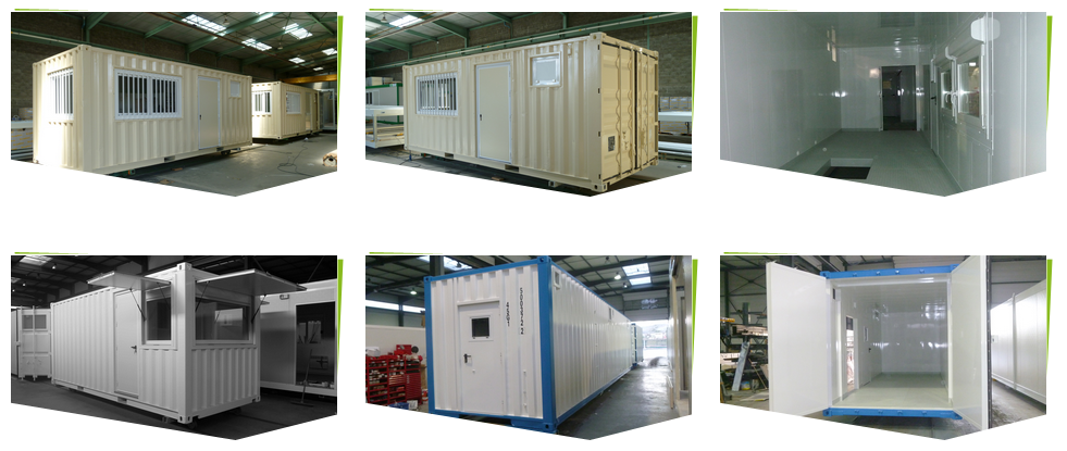 containeurs aménagés pour chantier