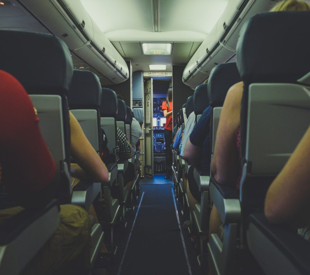 cabine passager avion