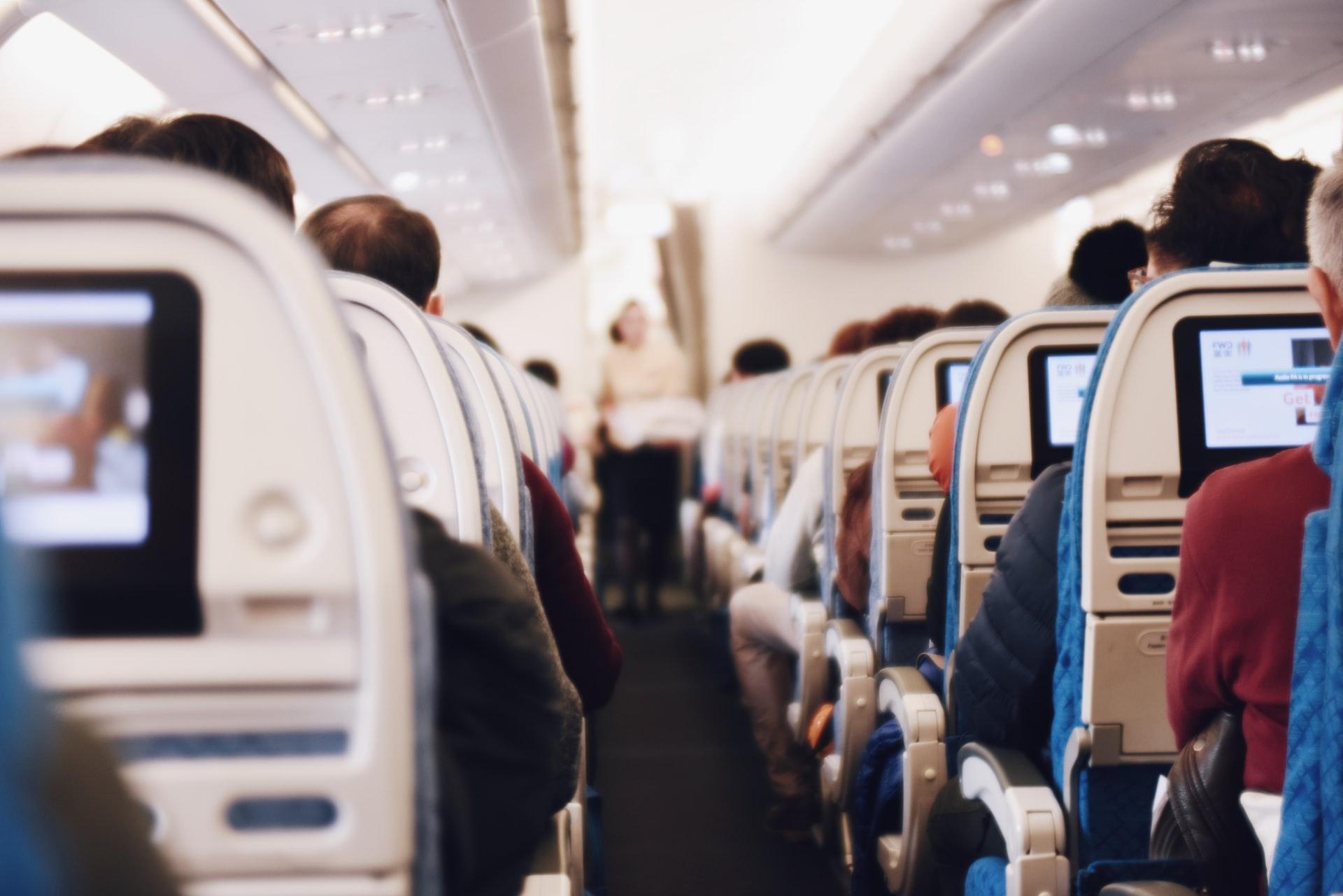 cabine passager avion de ligne
